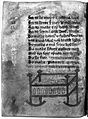 Swaddled baby, 15th century med. recipe book Wellcome L0016916.jpg