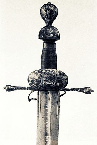 Petro Konashevych-Sahaidachny - A sword gifted to Sahaidachny by king Vladislaus Vasa as a sign of gratitude
