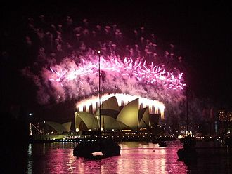 Sydney New Year's Eve - The Sydney Harbour celebrations on NYE 2004.