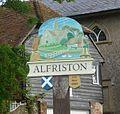 Symbols of Alfriston, glove, rope, bridge, bell etc. - panoramio.jpg