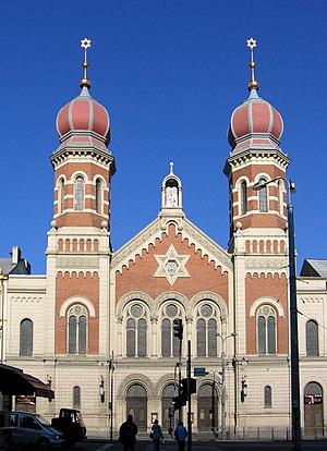 Great Synagogue (Plzeň) - Image: Synagogue Plzen 087