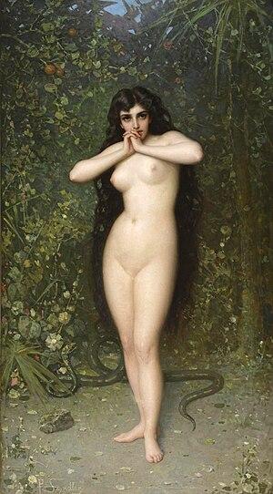 Eve - Eve by Pantaleon Szyndler, 1889