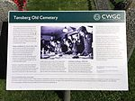 Tønsberg Old Cemetery Norway Commonwealth War Graves Commission poster Norwegian 2016-08.jpg
