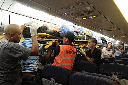 TAME transporting injured from Manta to Quito (2).jpg