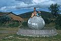 TRUE EQUATORIAL MONUMENT ON THE PAN AMERICAN HIGHWAY; CAYAMBE, ECUADOR.jpg