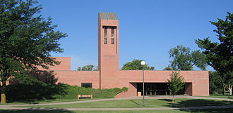 Hillsboro, Kansas - Wohlgemuth Music Education Center on Tabor College campus (2007)