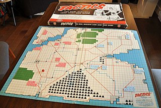 Board wargame wargame with a set playing surface or board