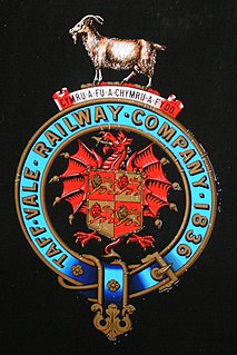Taff Vale Railway Railway company and line in South Wales