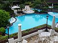 Tagaytay Highlands pool area.jpg
