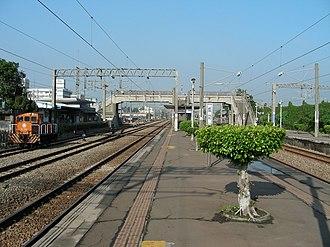 Chenggong Station - Chenggong Station platform