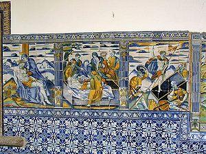 Talavera de la Reina - The famous Talavera pottery.