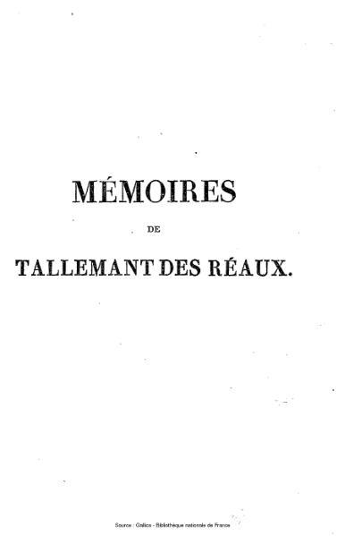 File:Tallemant des Réaux - Les historiettes, tome 3.djvu