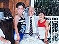 Tancredo Neves com Jader Filho e Helder Barbalho durante o Círio de 1984.jpg