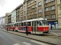 Tatra T3M u zastávky Krymská.jpg