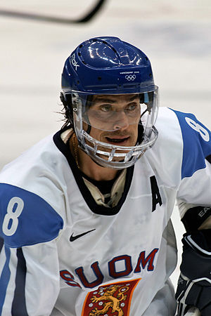Ice hockey at the 2014 Winter Olympics – Men's tournament - The Finnish national and Anaheim Ducks' player Teemu Selänne was selected as the MVP of the tournament.