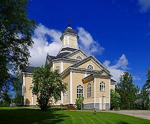 Terjärv - Church in Terjärv