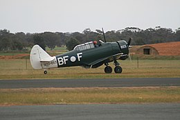 Temora Aviation Museum (VH-BFF) Commonwealth Aircraft Corporation CA-16 Wirraway A20-653 at Temora.jpg