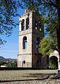 Templo y Ex Convento de San Francisco de la Asunción de Nuestra Señora, Tlaxcala, Tlax. México. (Torre exenta y Paso de ronda).jpg