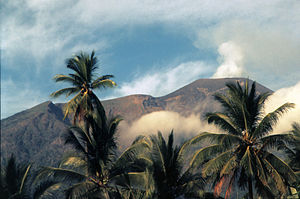 Der Vulkan Gamalama