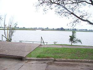 Federación, Entre Ríos - Riverwalk along the Uruguay River.