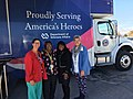 Terri Sewell with healthcare workers from the Dept of Veterans Affair in 2017.jpg