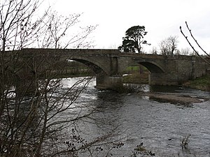 Kelso, Scottish Borders - Teviot Bridge Near Kelso