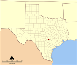 San Marcos Springs - Location of the San Marcos Springs