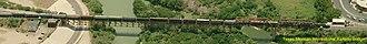 Texas Mexican Railway International Bridge - Image: Texas Mexican Railway International Bridge