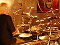 Thaler at Rhythmbase in Glasgow Scotland for a drum clinic, 2008.jpg