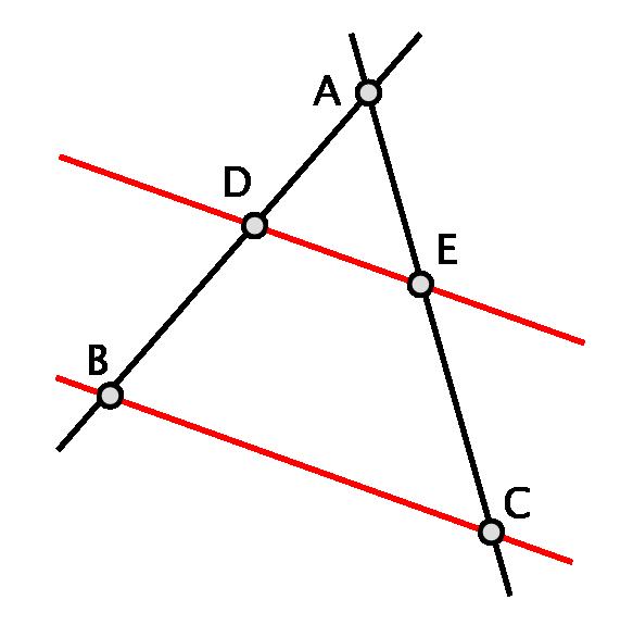 Thales theorem 1