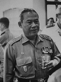 Thanom Kittikachorn Thai politician