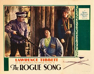The Rogue Song - Lobby card for The Rogue Song featuring Oliver Hardy and Stan Laurel