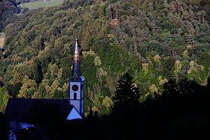 Buchberg, Schaffhausen - Image: The Church Of Buchberg