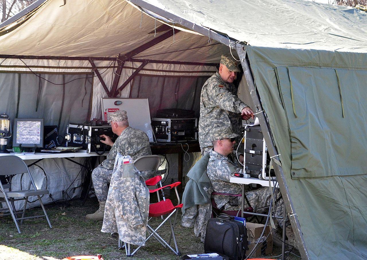 File:The 19th Regiment signal unit, Texas State Guard.jpg ...