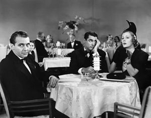 The Awful Truth - Ralph Bellamy, Cary Grant and Irene Dunne in The Awful Truth