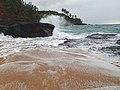The Big Splash on Secret Beach (8728225786).jpg