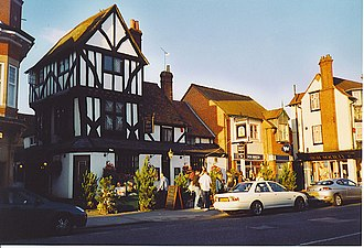 Thame - Bird Cage, an early 16th century public house