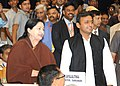 The Chief Minister of Uttar Pradesh, Shri Akhilesh Yadav and the Chief Minister of Tamil Nadu, Dr. J. Jayalalithaa at the Chief Ministers' Conference on Internal Security, in New Delhi on April 16, 2012.jpg
