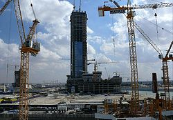 The Citadel Under Construction on 28 December 2007.jpg