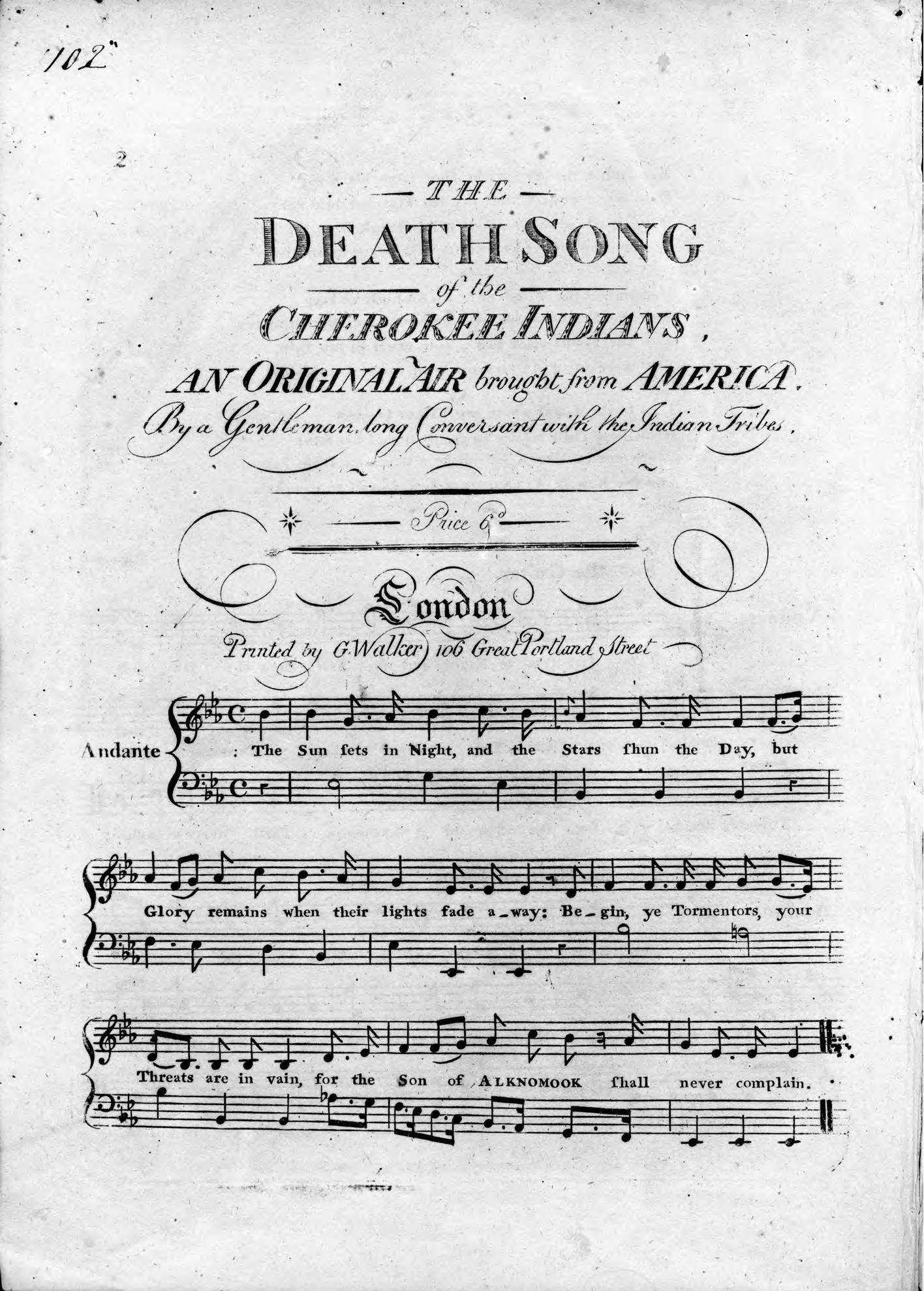 a death song