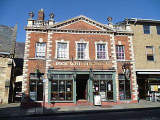 Dick Whittington Tavern Grade I listed building in the United Kingdom