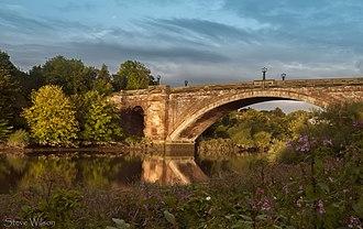 Grosvenor Bridge (Chester) - Image: The Grosvenor Bridge (13422338753)
