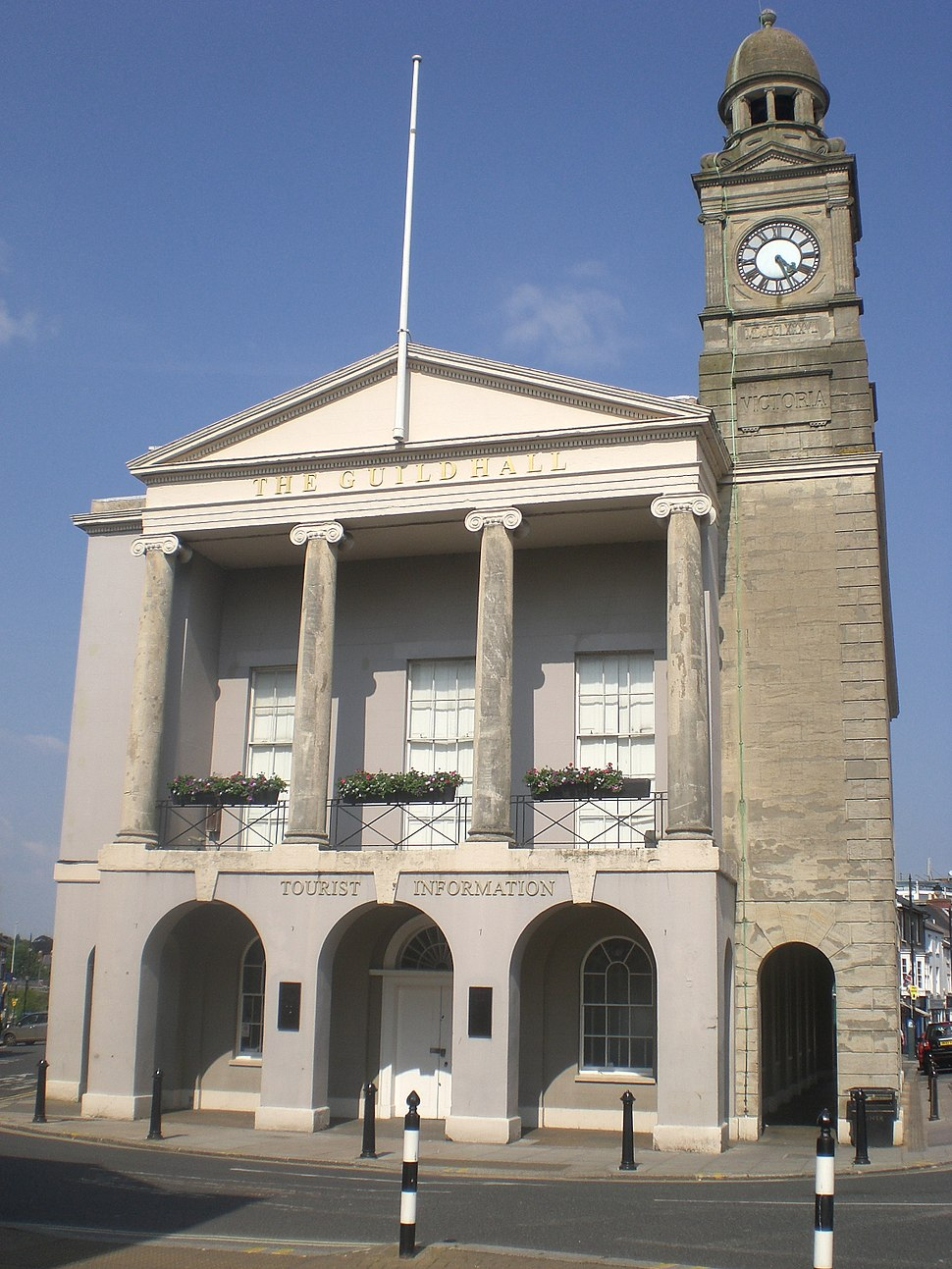 The Guildhall in Newport