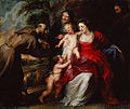 The Holy Family with Saints Francis and Anne and the Infant Saint John the Baptist (1630s).jpg