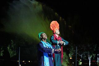 nighttime show at Disney