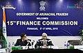 The Member of the 15th Finance Commission, Shri Shaktikanta Das addressing a press conference, in Itanagar, Arunachal Pradesh on April 06, 2018.jpg