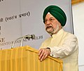The Minister of State for Housing and Urban Affairs (IC), Shri Hardeep Singh Puri addressing at the foundation stone laying ceremony for Redevelopment of Govt. of India Press, Minto Road, in New Delhi on April 04, 2018.jpg