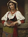 The Neapolitan Girl (1876)- Hugues Merle (1823-1881).jpg