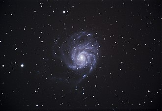 Pinwheel Galaxy - Image: The Pinwheel Galaxy M101