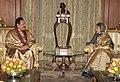 The President of Sri Lanka, Mr. Mahinda Rajapaksa meeting the President, Smt. Pratibha Devisingh Patil, in New Delhi on June 09, 2010.jpg